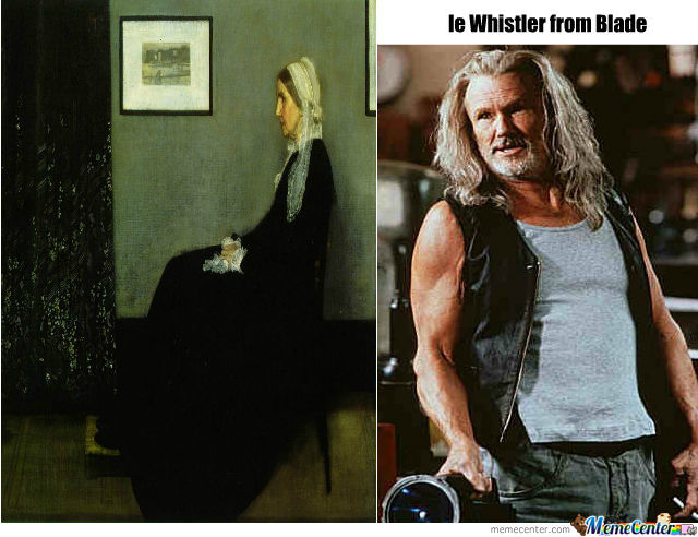Whistler`s Mother