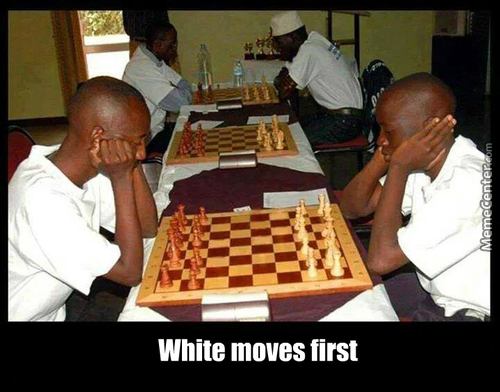 White Moves First