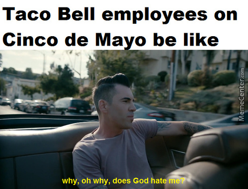 White People Make A Bigger Deal Out Of Cinco De Mayo Than Mexicans Do.