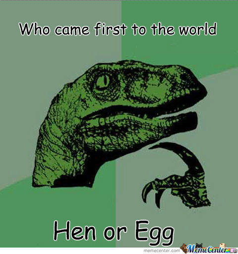 Who Came First