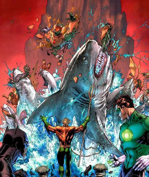 Who Ever Said Aqua-Man Was The Weakest Super Hero Obviously Never Fought Him In The Water.