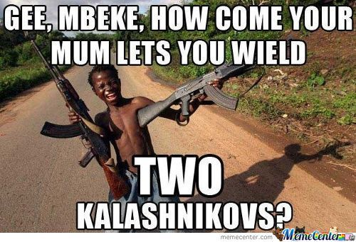 Who Needs Swag When You Have Two Kalashnikovs?