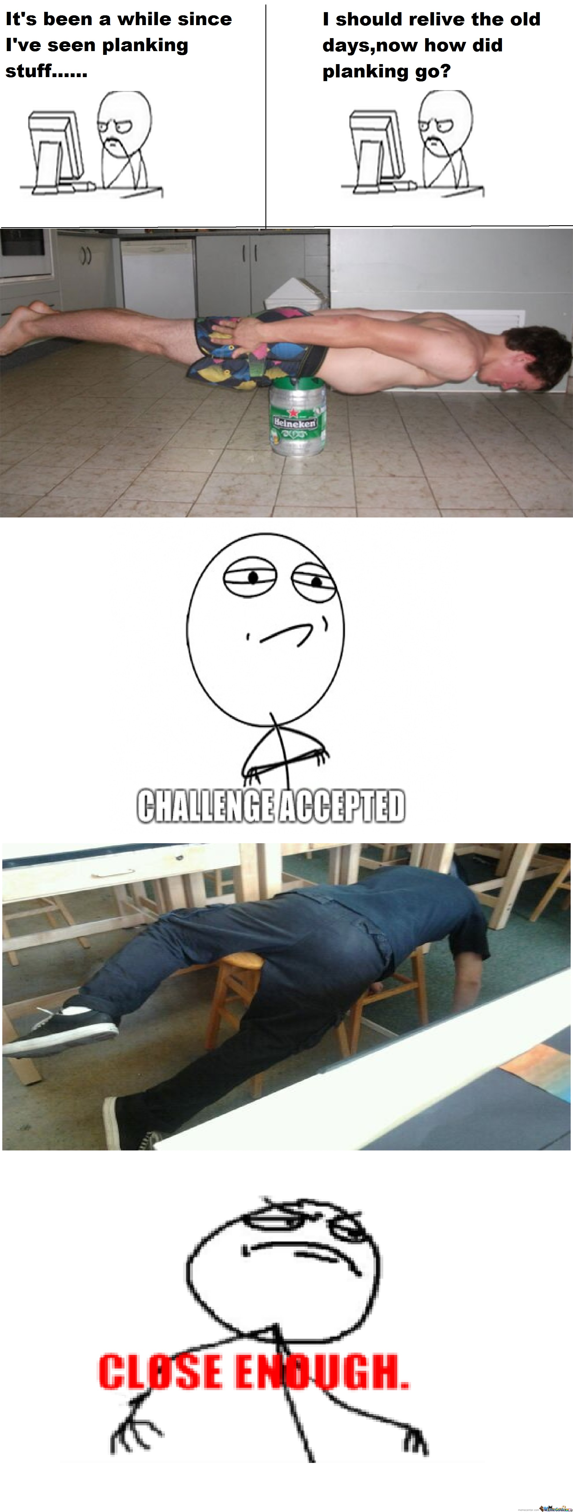 Who Remembers Planking?