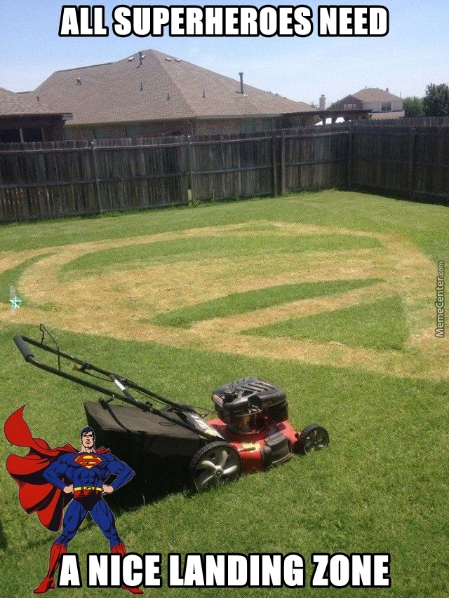 who said mowing your lawn is boring_o_3383943 who said mowing your lawn is boring? by fraterbbobbo meme center,Lawn Memes
