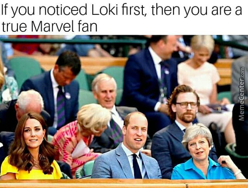 Who Saw Hiddleston First??