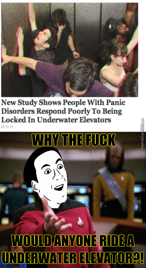Who Thinks Up These Crazy As F**k Studies?!