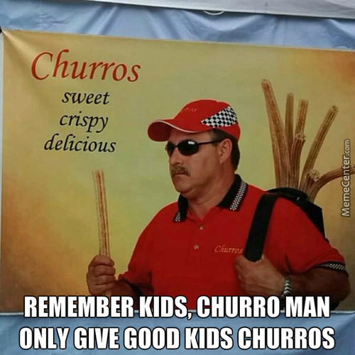 Who Wants A Big Hot Churro In Their Mouth?