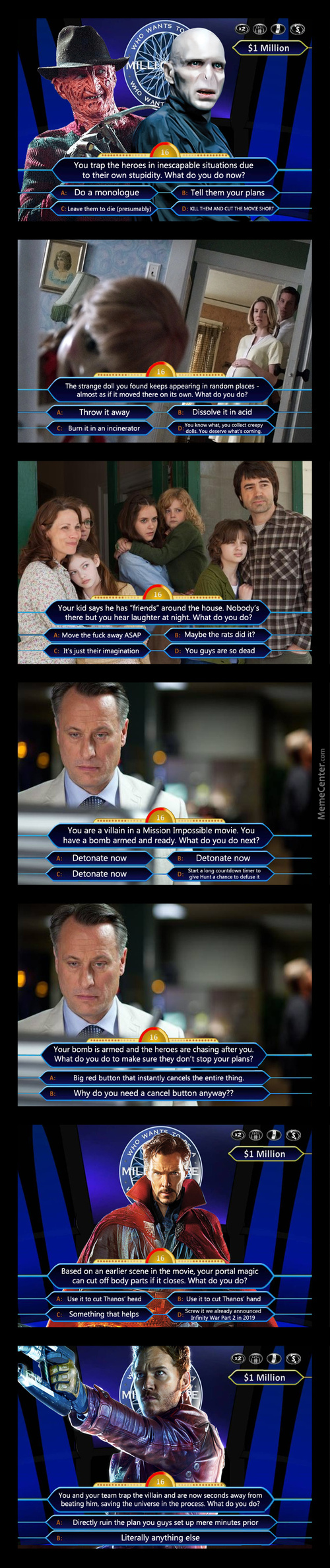 Who Wants To Be A Millionaire: Movie Edition