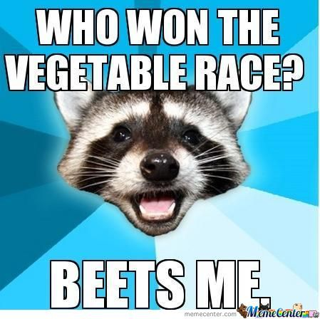 Who Won The Vegtable Race?