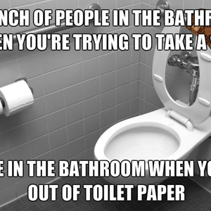 Who You Gonna Call When You Run Out Of Toilet Paper In A Public Bathroom By Jazzchameleon Meme Center