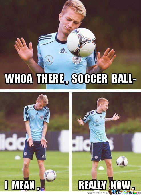 Whoa There, Soccer Ball...