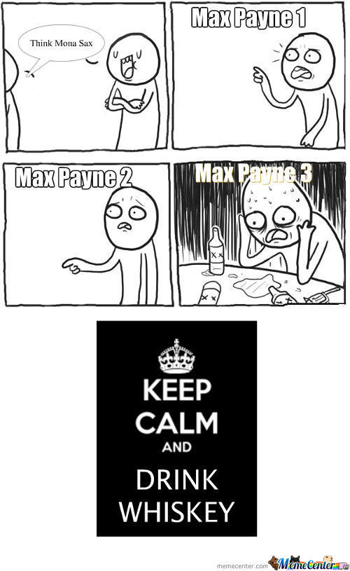 Whole Max Payne Games In A Meme!