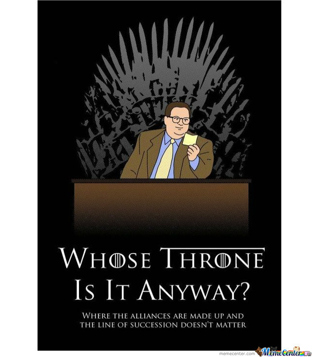 Whose Throne Is It, Really?