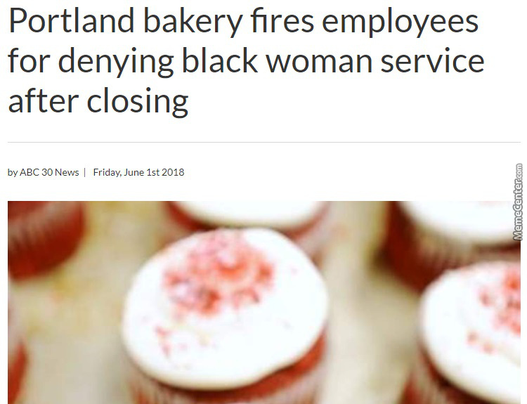 Why Are Bakeries A Bastion Of Bigortry?