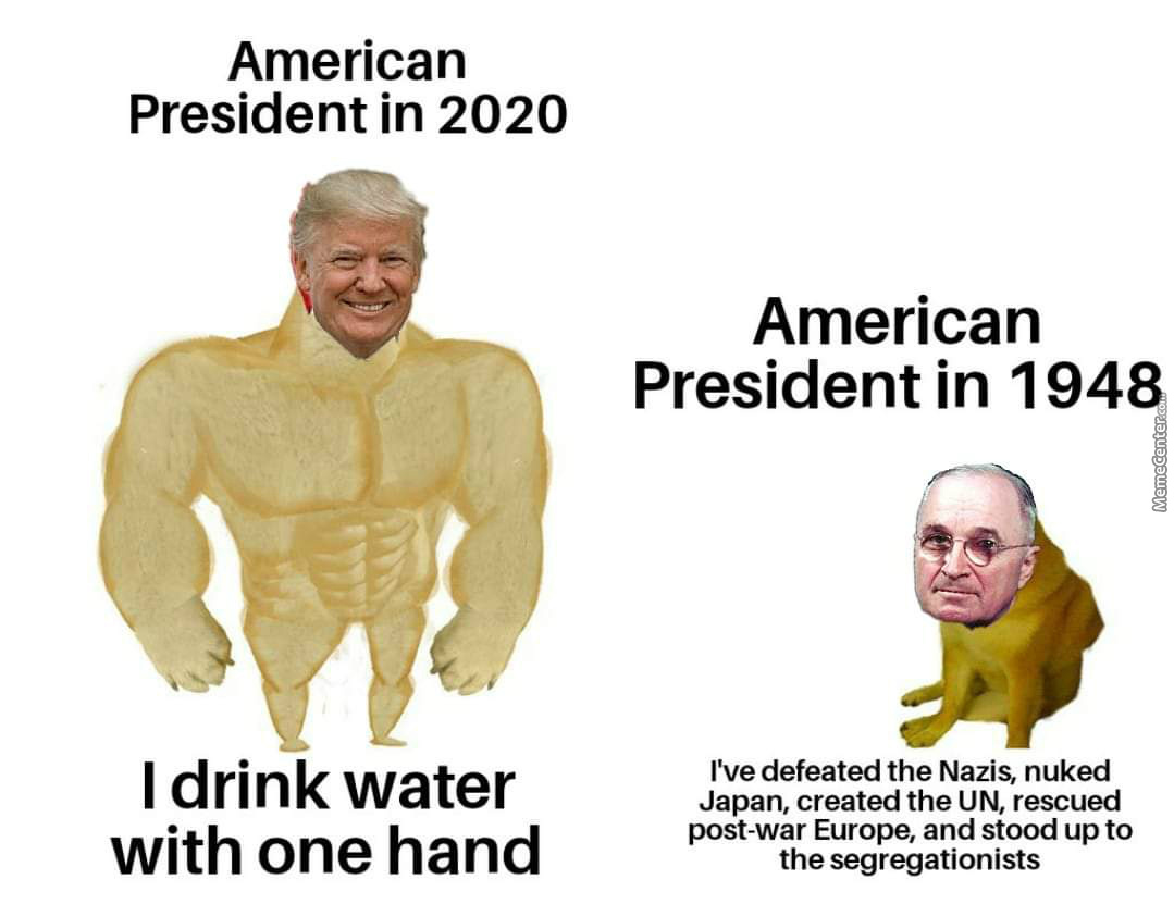 Why Cant The Old Presidents Be More Like Our Modern One(S)