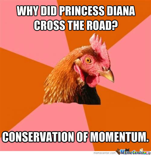 Why Did Princess Diana Cross The Road?