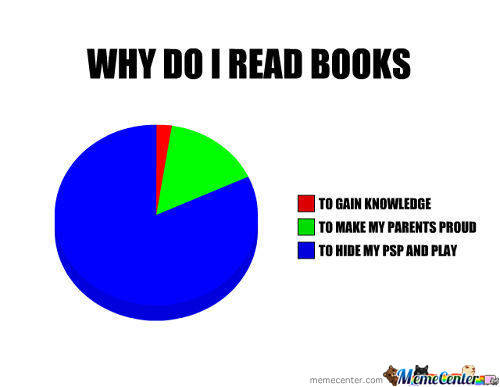 why i like to read