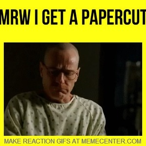Why Do Papercuts Sting So Much? by acevesgame - Meme Center