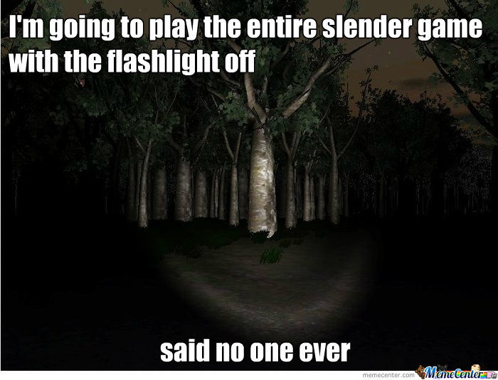 Why Does The Game Have The Option Of Turning The Flashlight Off?