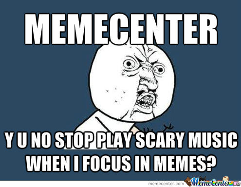 Why Does There Come Music From Memecenter??