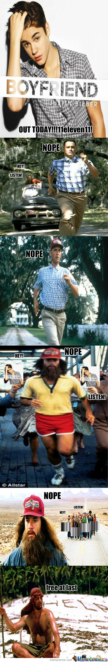 Why Forrest Actually Ran