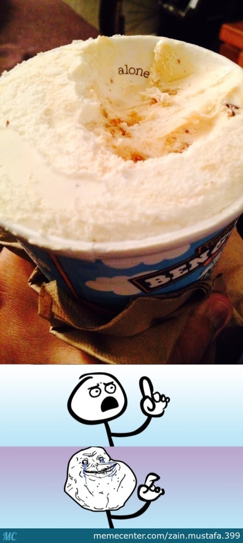 Why Have You Betrayed Me Ice-Cream.