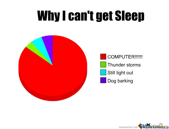 Why I Get No Sleep