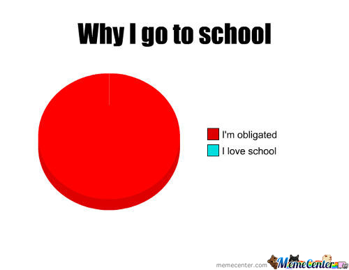 Why I Go To School