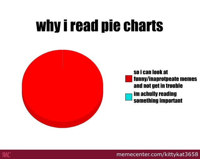 Why I Read Pie Charts By Kittykat3658 Meme Center