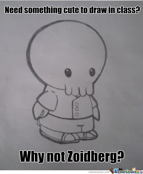 Why Not Cute Zoidberg?