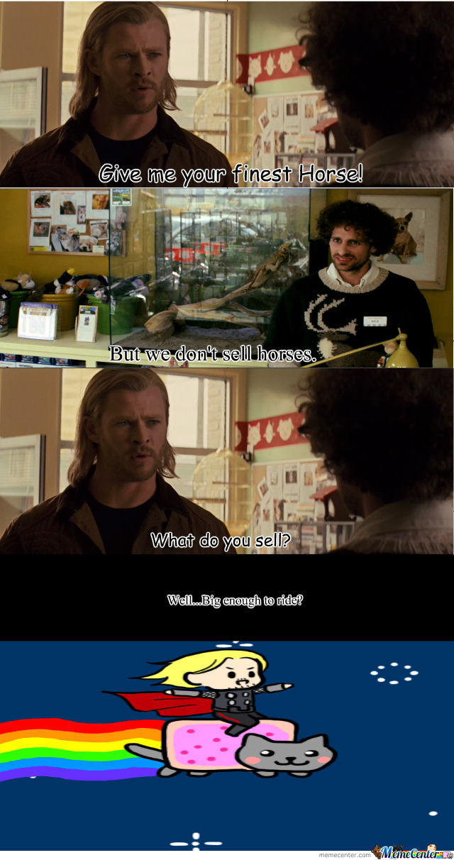 Why Not, Thor?