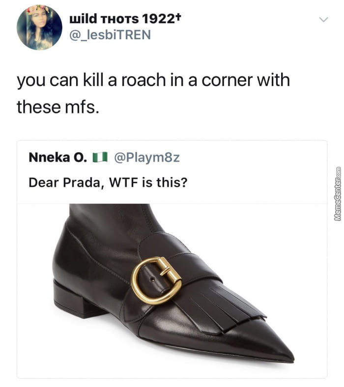 prada shoes video meme creator