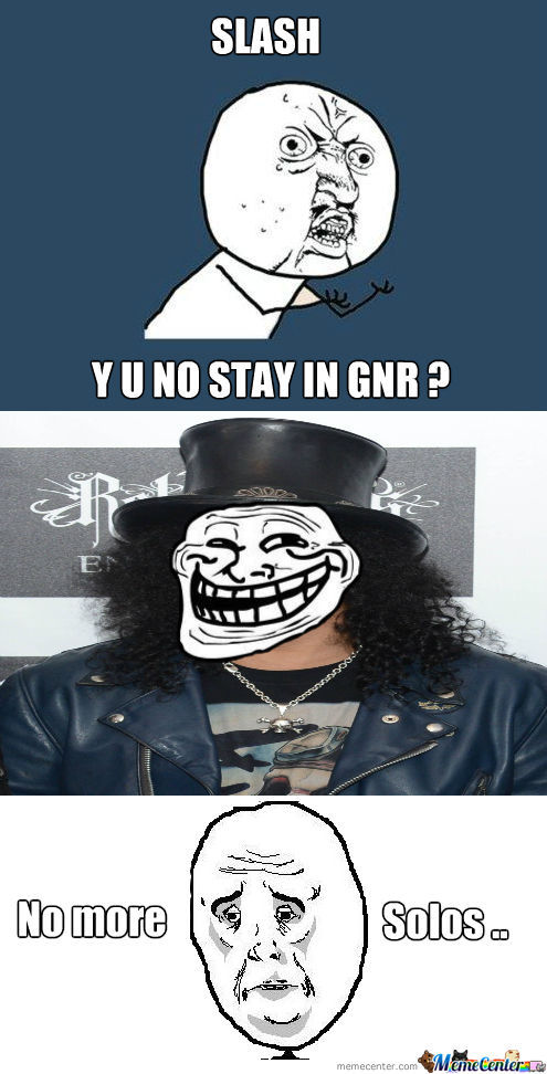 Why Slash ?? Why ??