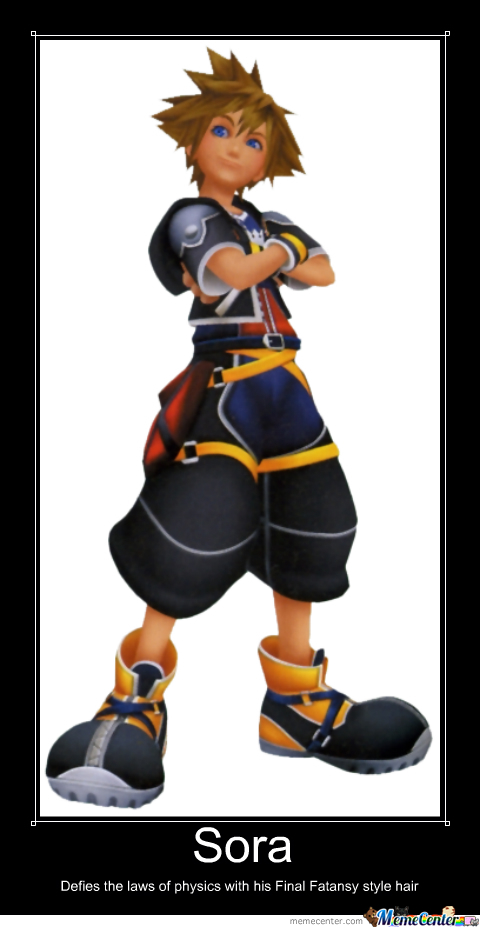 Why Sora Can Defie The Laws Of Physics In Kingdom Hearts