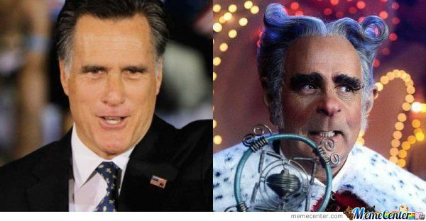 Why Vote For Romney When He Is Already The Mayor Of Whoville?