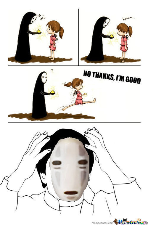 Spirited Away Memes. Best Collection of Funny Spirited ...