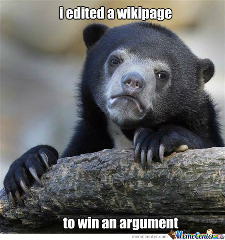 Confession Bear: Wiki
