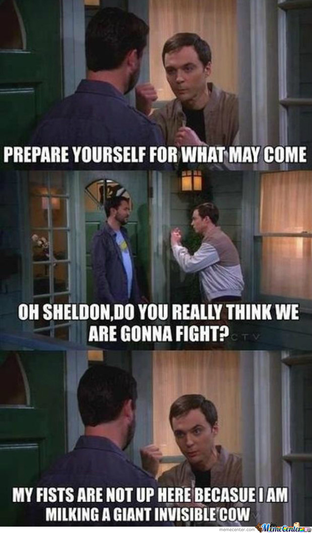 Wil Wheaton Vs Sheldon Cooper