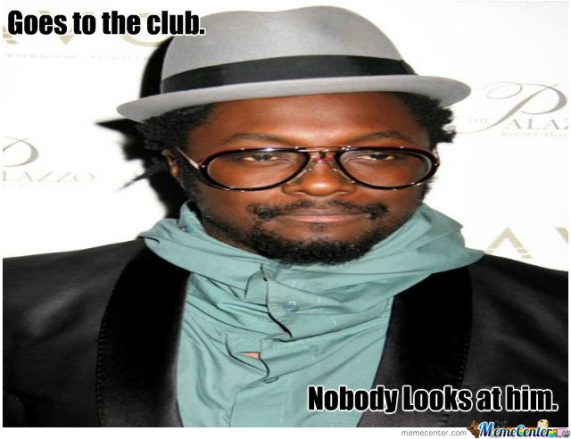Will I Am Is In The Building