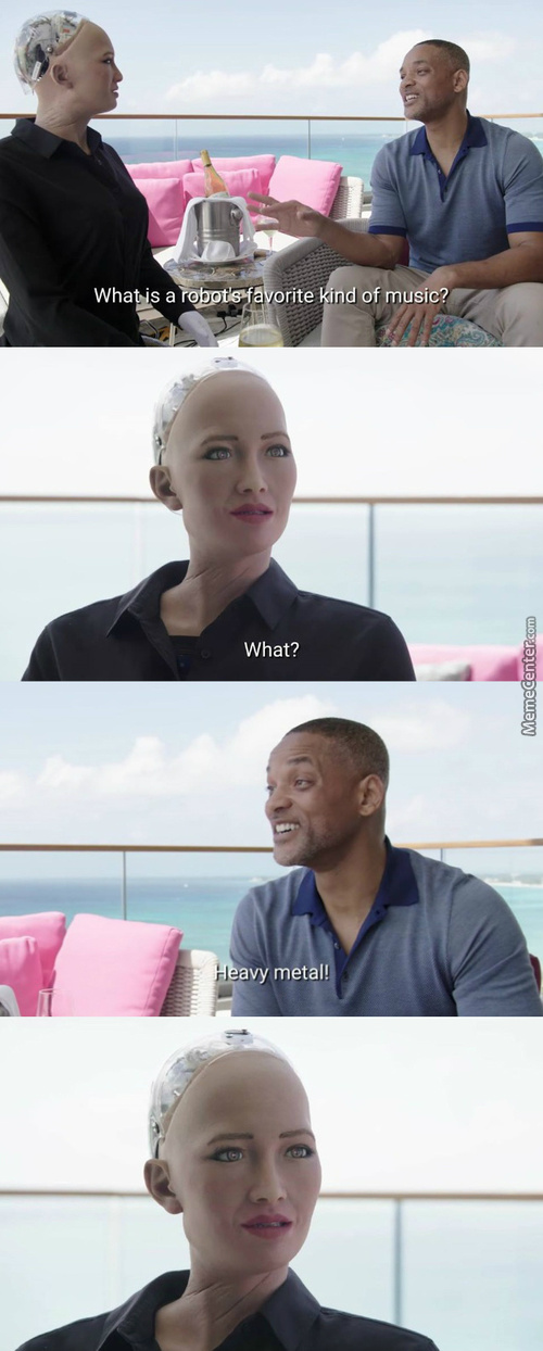 Will Smith Will Cause The Robot Uprising