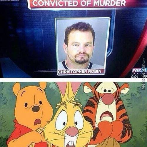 Winnie The Pooh And Friends Are Shocked