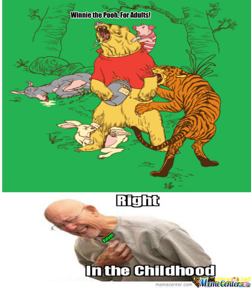 Winnie The Pooh For Adults!