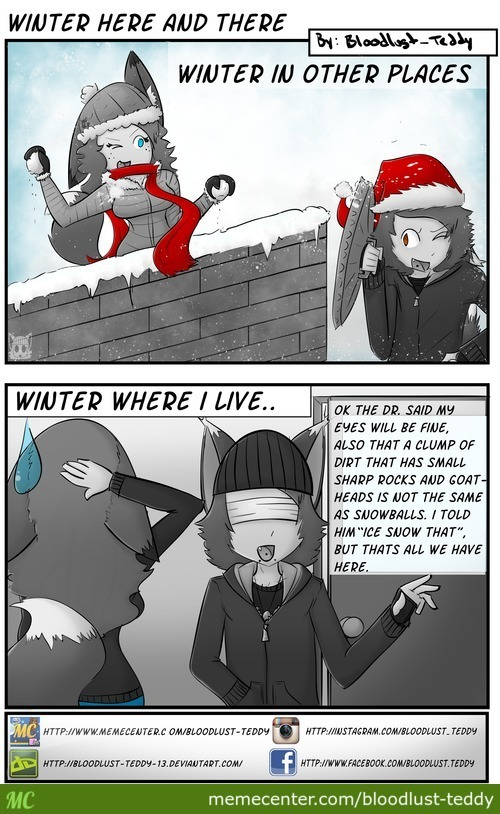Winter Here And There