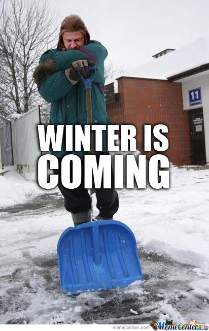 Winter Is Coming Memes. Best Collection Of Funny Winter Is Coming Pictures
