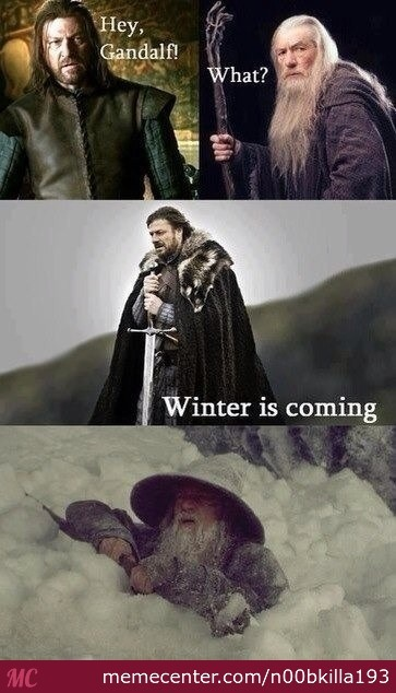 Winter Time Is Here