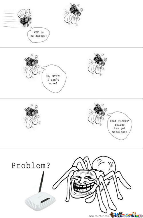 Wireless Troll Spider