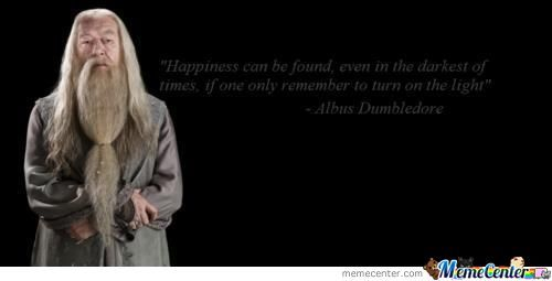 Wise Words From Albus Dumbledore