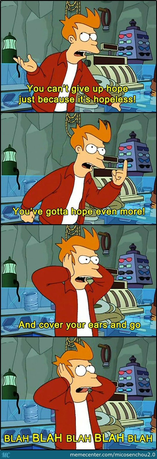 Wise Words From Fry