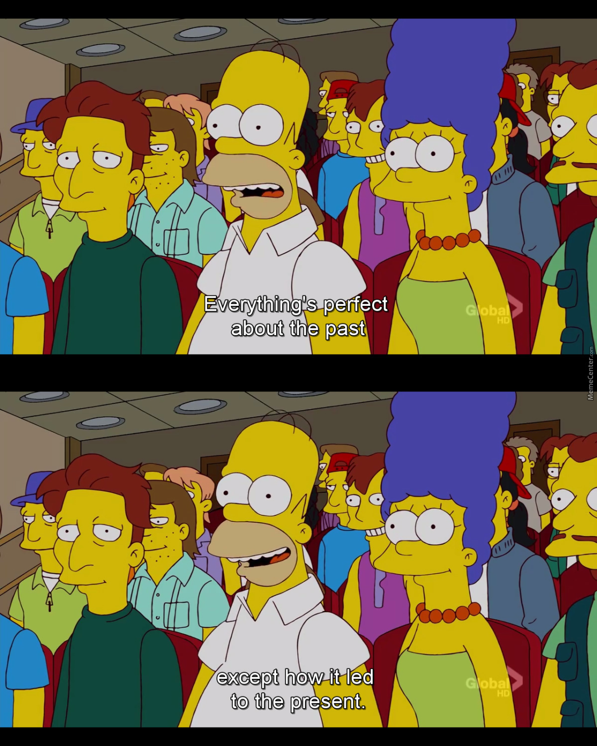 Wise Words Homer.