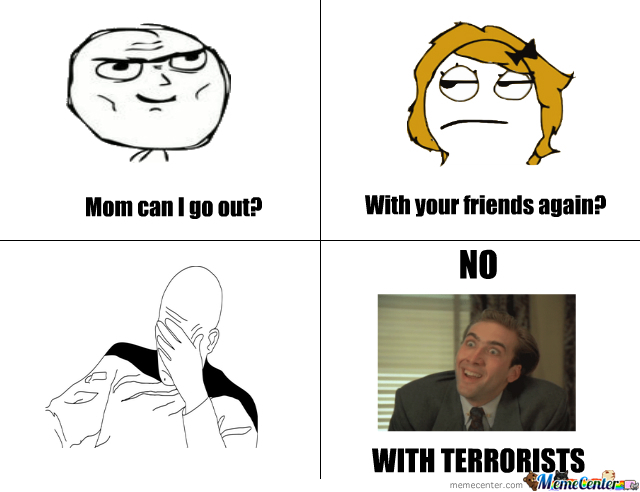 With Terrorists
